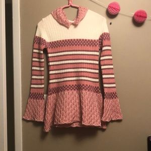Other - Pink,purple,and white long sweater